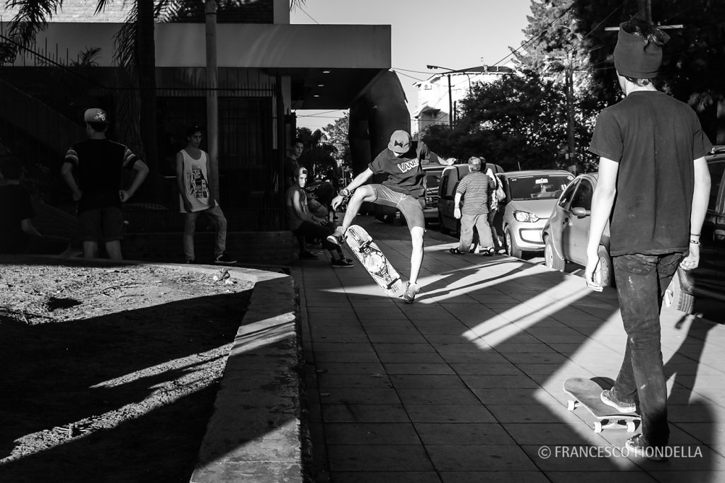 Skateboarders, Buenos Aires