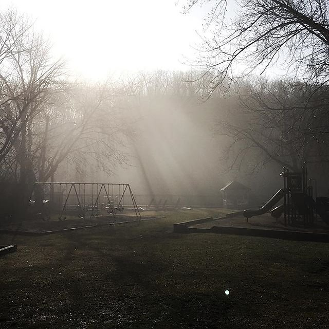 Playground from a  novel. Last one of my  photo series, which I shot on the way to work on Wednesday. . —————————————     _shot       _perfection      _shot